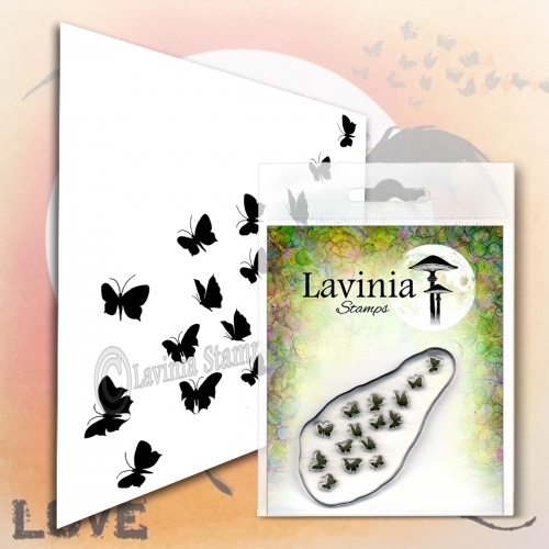 Lavinia Stamps - Clearstamp - Flutterbies - LAV556