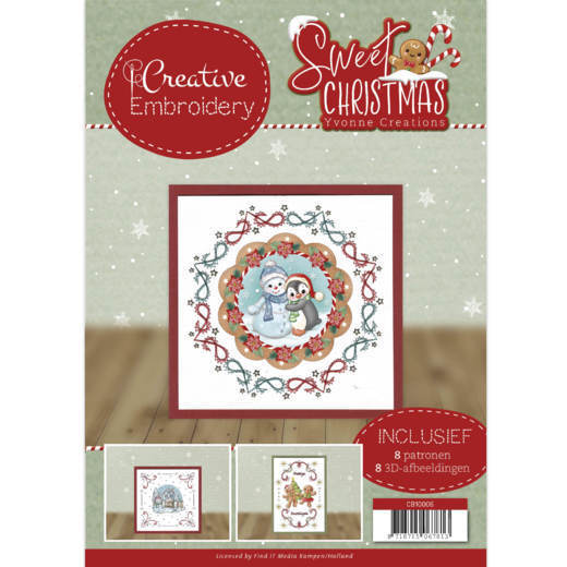 Yvonne Creations - Creative Embroidery 6 - Sweet Christmas - CB10006