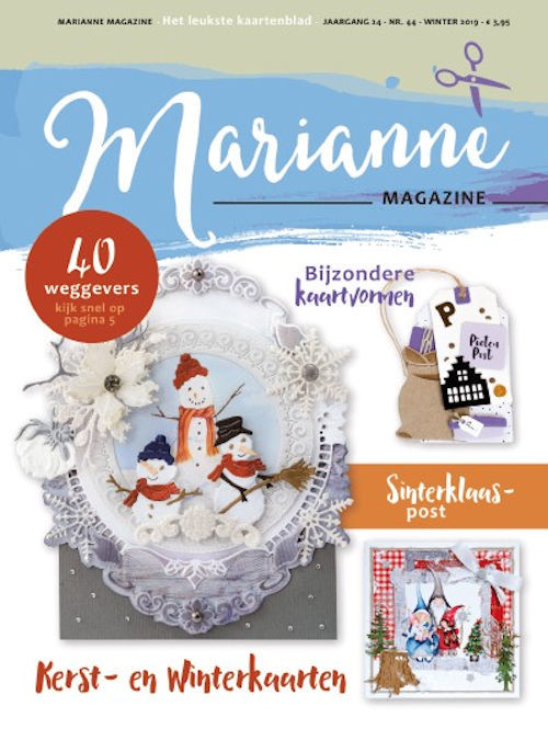 Marianne Design - Marianne Doe - Magazine No. 44 - DOE44