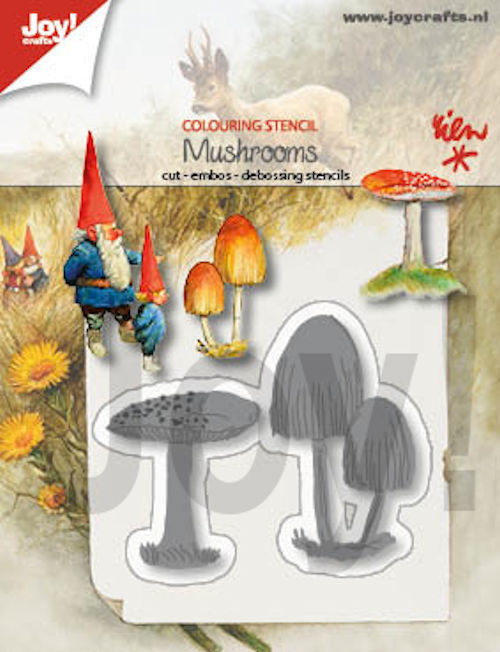 Joy! crafts - Die - Mushrooms - 6002/1402