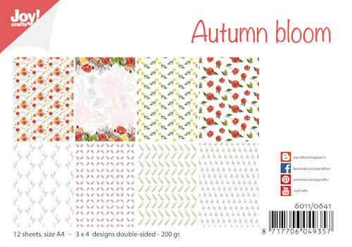 Joy! crafts - Paperset - Autumn bloom - 6011/0641