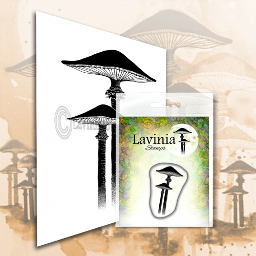 Lavinia Stamps - Clearstamp - Meadow Mushroom (mini) - LAV561