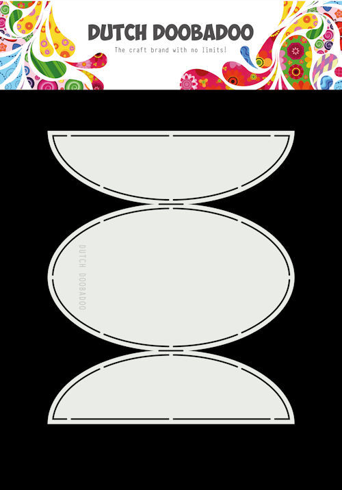 Dutch Doobadoo - Card Art - Oval flaps - 470.713.337
