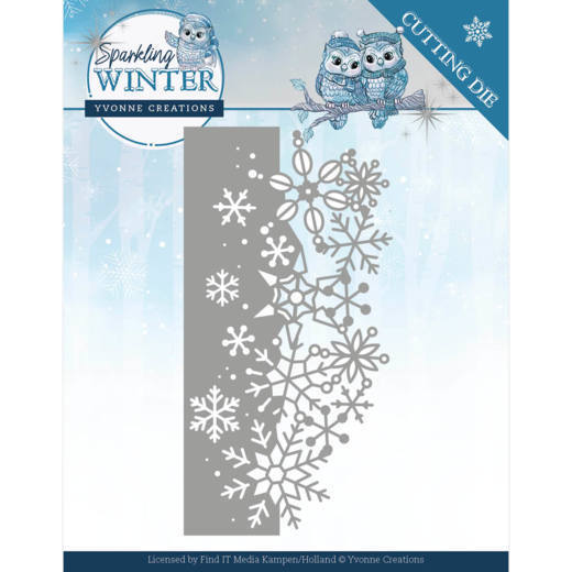 Yvonne Creations - Die - Sparkling Winter - Sparkling border - YCD10189