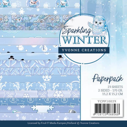 Yvonne Creations - Paperpack - Sparkling Winter - YCPP10029