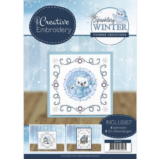 Yvonne Creations - Creative Embroidery 7 - Sparkling Winter - CB10007