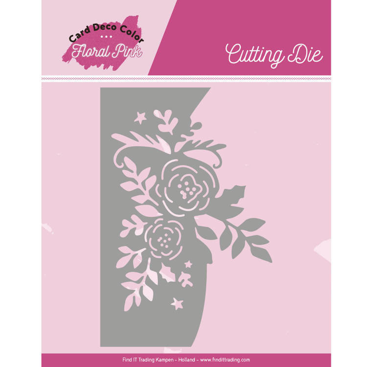 Yvonne Creations - Die - Floral Pink - Floral Pink Roses - CDCCD10002