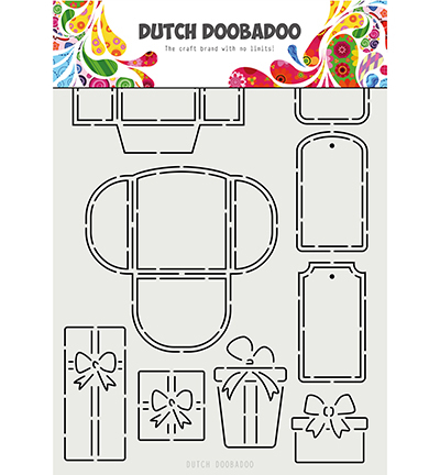 Dutch Doobadoo - Maskingstencil - Labels & tags - 470.715.813