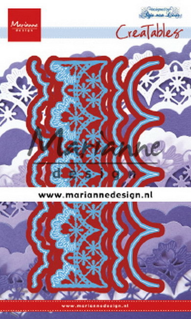 Marianne Design - Die - CreaTables - Anja's Mix and Match edge - LR0637