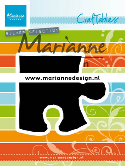 Marianne Design - Die - Craftables - Puzzle piece - CR1491