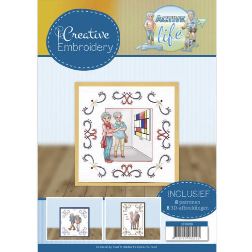Yvonne Creations - Creative Embroidery 9 - Active Life - CB10009