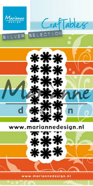 Marianne Design - Die - Craftables - Punch die - Daisies - CR1501