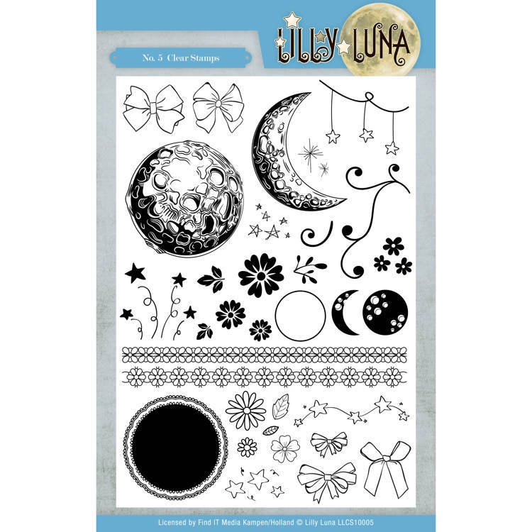 Lilly Luna - Clearstamps - No. 5 - LLCS10005
