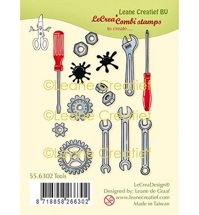 Leane Creatief - Clearstamp - Tools - 55.6302