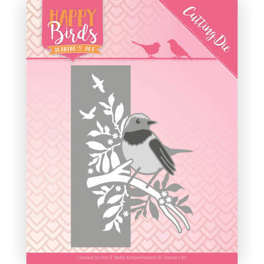 Jeanine`s Art - Die - Happy Birds - Bird Edge - JAD10086