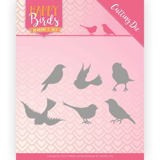 Jeanine`s Art - Die - Happy Birds - Happy Birds - JAD10090
