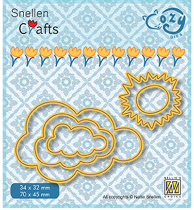 Nellie Snellen - Die - Cozy Dies - Sun and Clouds - SCCOD018