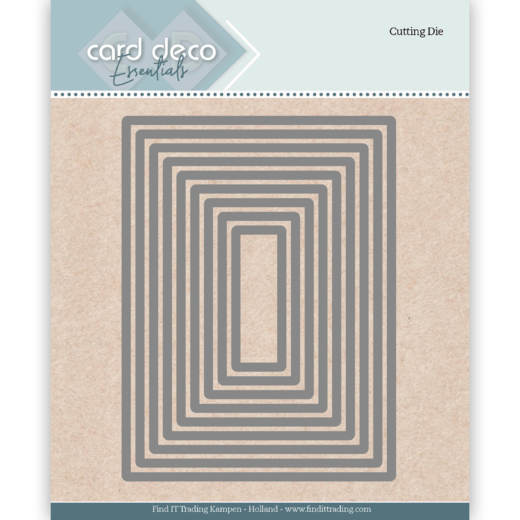 Card Deco - Die - Essentials - Rectangle - CDECD0023