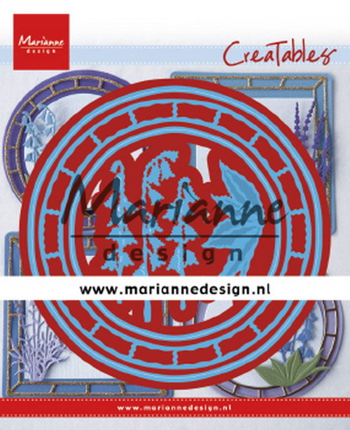 Marianne Design - Die - Creatables - Blue bell circle - LR0648