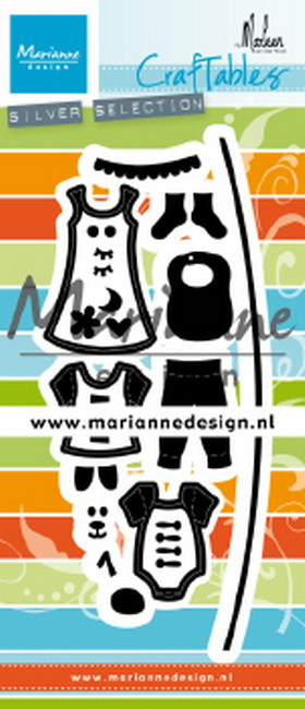 Marianne Design - Die - Craftables - Clothesline - CR1502