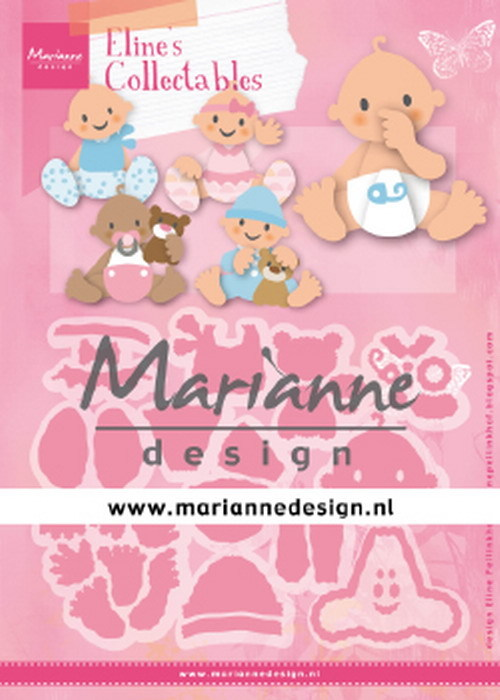 Marianne Design - Die - Collectables - Eline`s Babies - COL1479