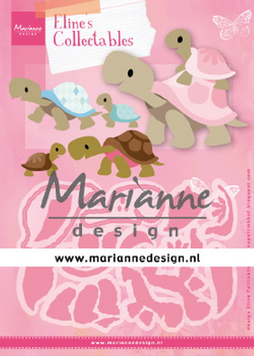 Marianne Design - Die - Collectables - Eline`s Turtles - COL1480