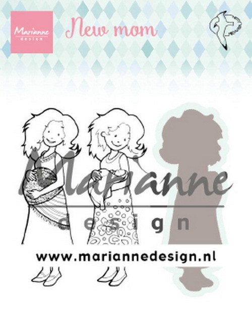 Marianne Design - Clearstamp - Hetty`s - New Mom - HT1651