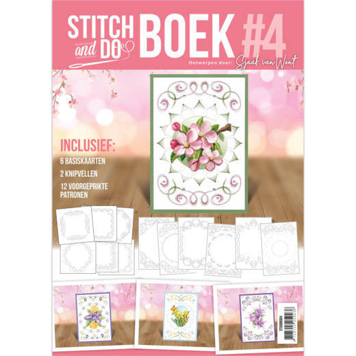 Card Deco - Stitch and Do - Boek No. 04 - STDOBB004