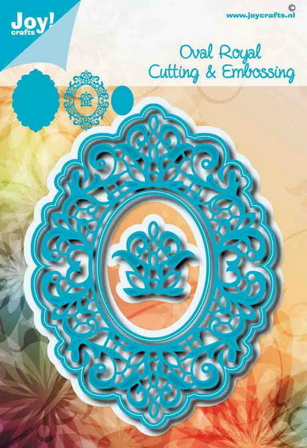 Joy! crafts - Noor! Design - Die - Oval Royal - 6002/1455