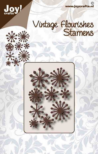 Joy! crafts - Die - Vintage Flourishes - Stamens - 6003/0096