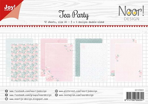 Joy! crafts - Noor! Design - Paperpack - Tea Party - 6011/0651