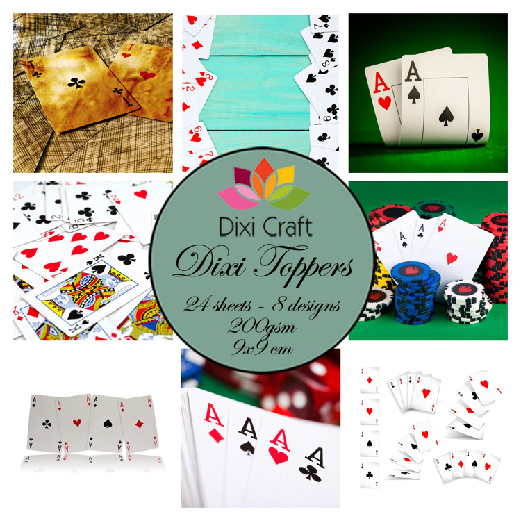 Dixi Craft - Paperpack - Playing cards - ET0346