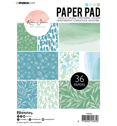Studio Light - Paperpack - Karin Joan - Blooming - PPKJ01
