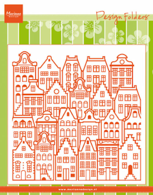 Marianne Design - Design Folder - Dutch houses - DF3458