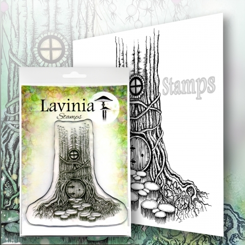 Lavinia Stamps - Clearstamp - Druids Inn - LAV572