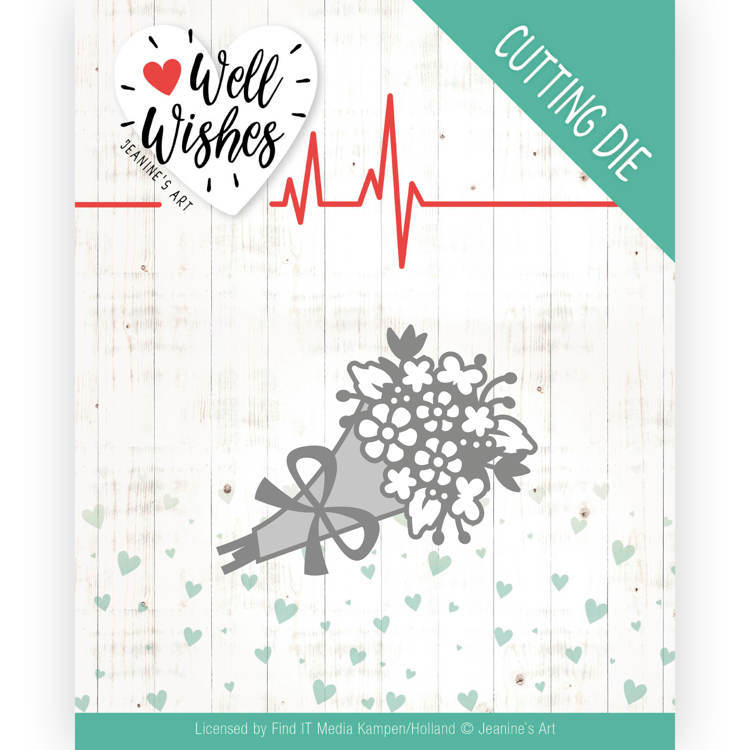 Jeanine`s Art - Die - Well Wishes - Bouquet - JAD10095