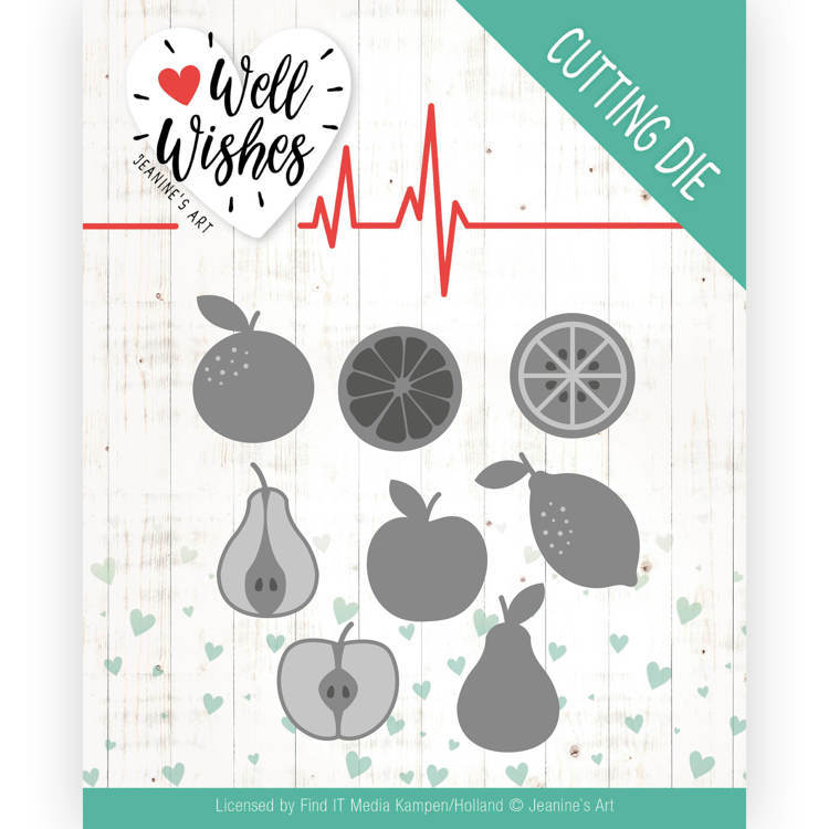 Jeanine`s Art - Die - Well Wishes - Fruits - JAD10093