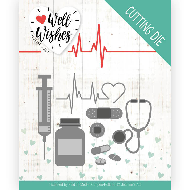 Jeanine`s Art - Die - Well Wishes - Getting well - JAD10092
