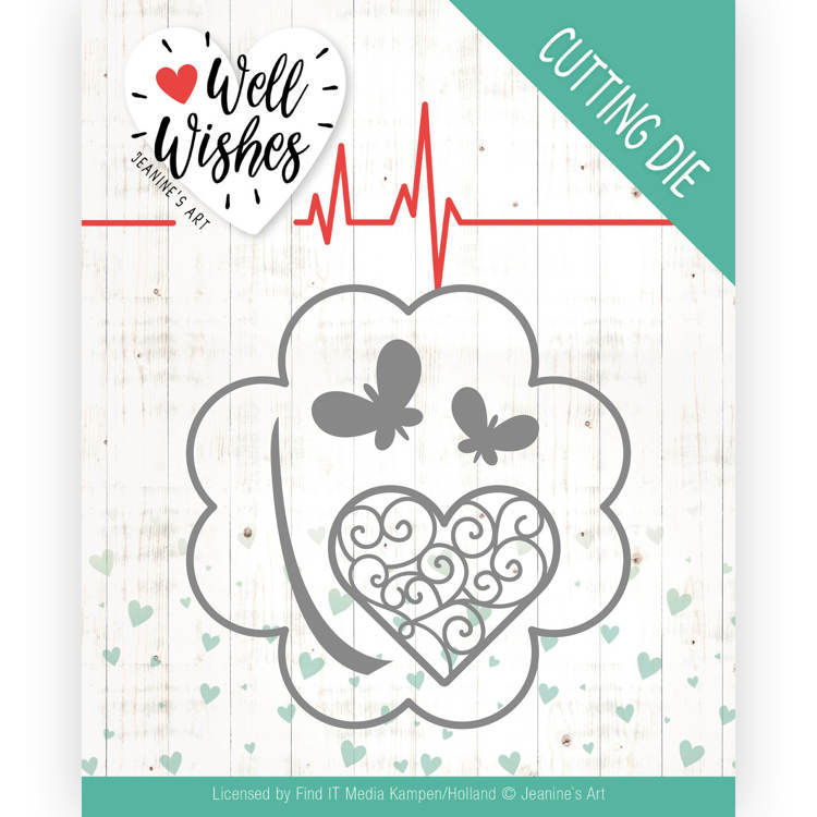 Jeanine`s Art - Die - Well Wishes - Lucky Clover - JAD10091