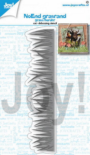 Joy! crafts - Die - NoEnd - Grassborder - 6002/1429