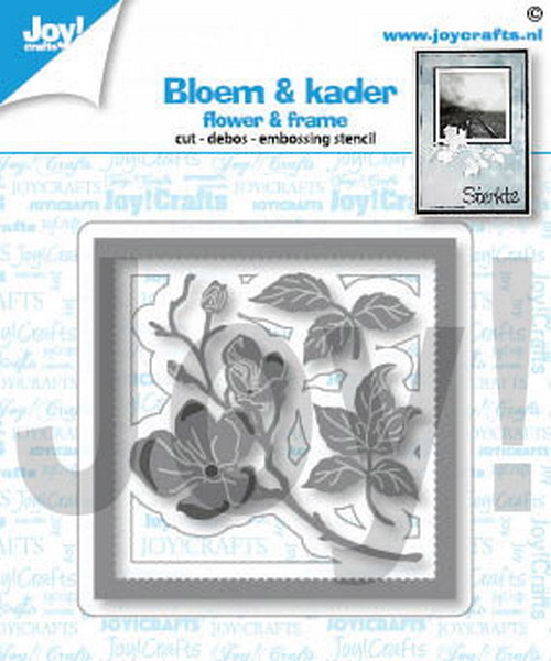 Joy! crafts - Die - Bloem & kader - 6002/1451