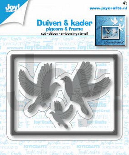 Joy! crafts - Die - Duiven & kader - 6002/1452