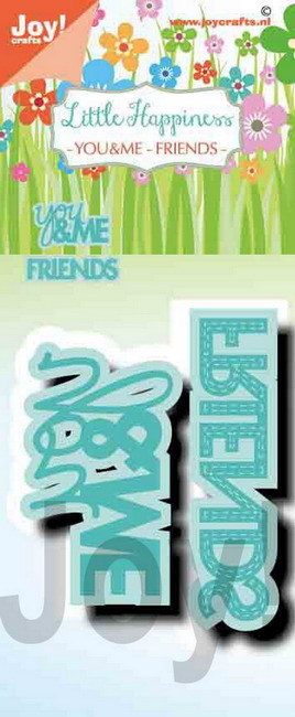 Joy! crafts - Noor! Design - Die - Little Happiness - You & Me - Friends - 6002/1487