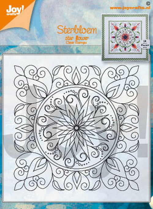 Joy! crafts - Clearstamp - Sterbloem - 6410/0534