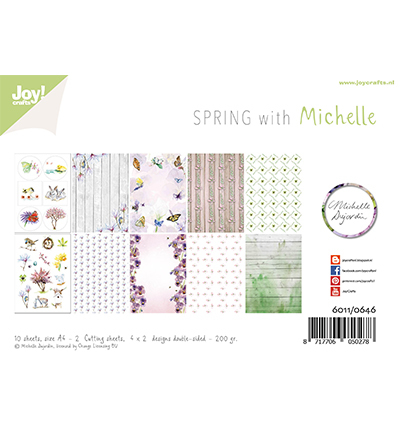 Joy! crafts - Paperset - Spring with Michelle - 6011/0646