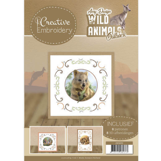 Amy Design - Creative Embroidery 13 - Wild Animals Outback - CB10013