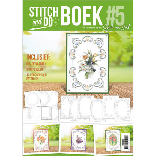 Card Deco - Stitch and Do - Boek No. 05 - STDOBB005