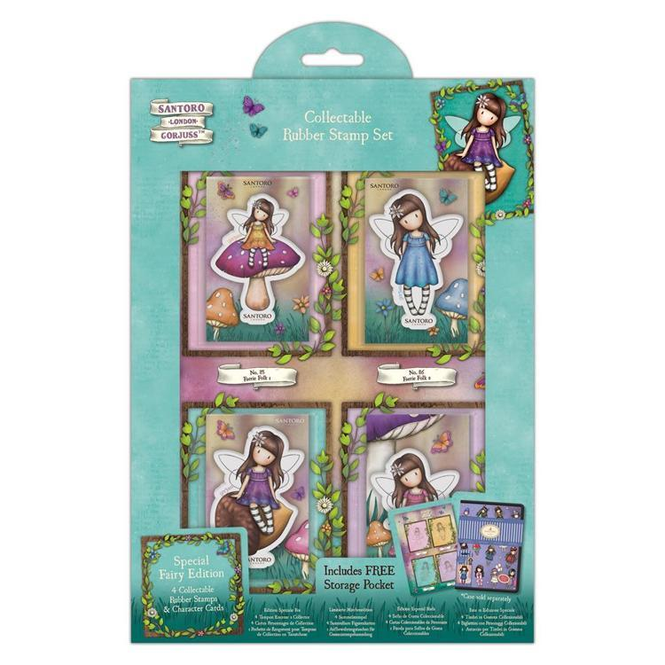 Gorjuss - Cling Stamp - Santoro - Special Fairy Edition - GOR 907167
