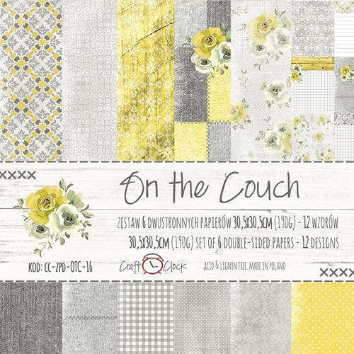 Craft O`Clock - Paperpack - 305 x 305mm - On the couch - CC-ZPD-OTC-16