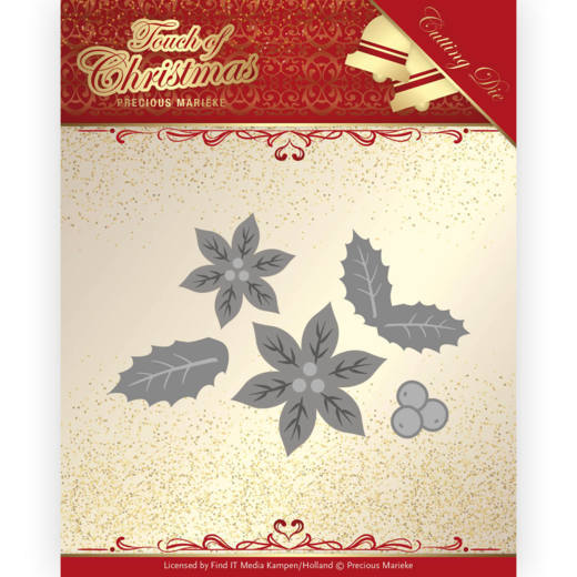 Precious Marieke - Die - Touch of Christmas - Poinsettia - PM10187